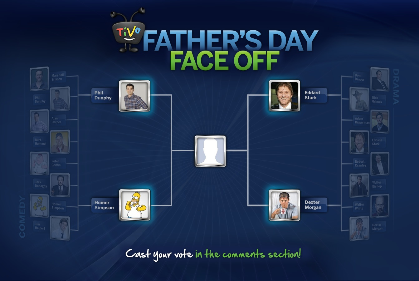 Who will be the ultimate TV Dad?