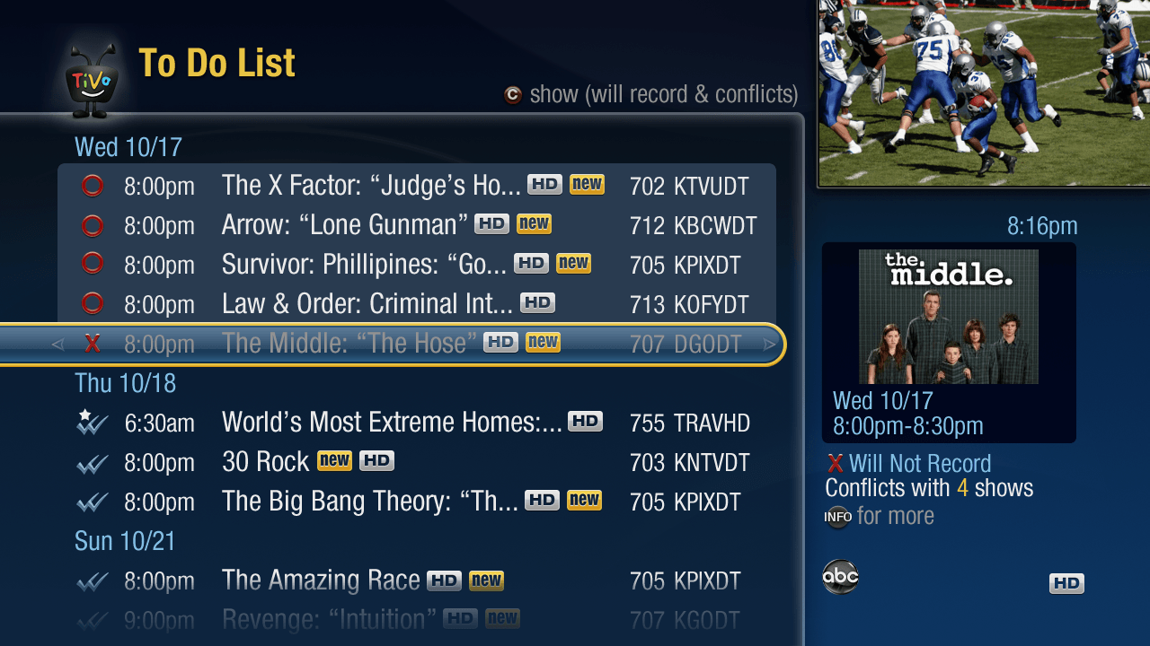 TiVo Premiere Fall Update Released