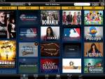 iPad apps can scroll the most popular shows, recommendations, and other helpful categories