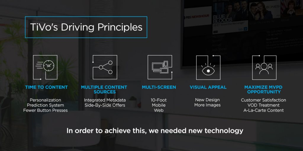 TiVo: Driving Principles