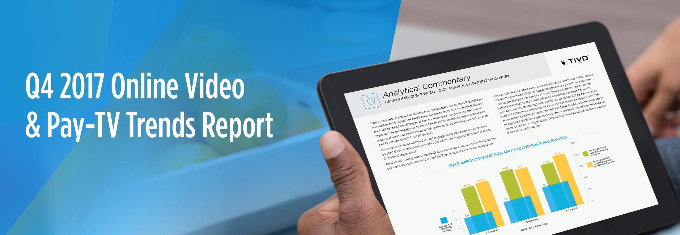 TiVo Q4 2017 Video Trends Report