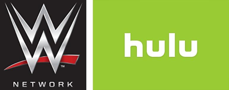 WWE and Hulu logos