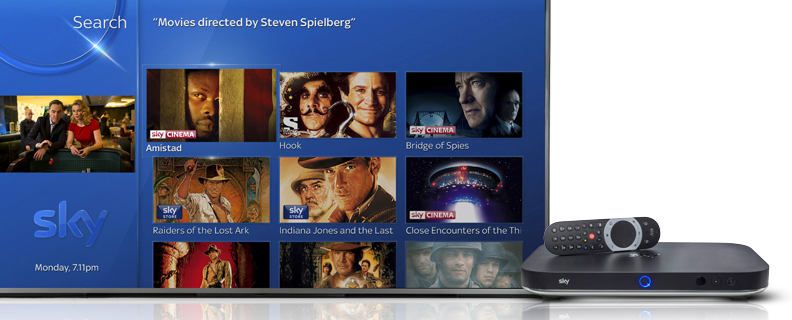 TiVo + Sky = Voice Search for Sky Q