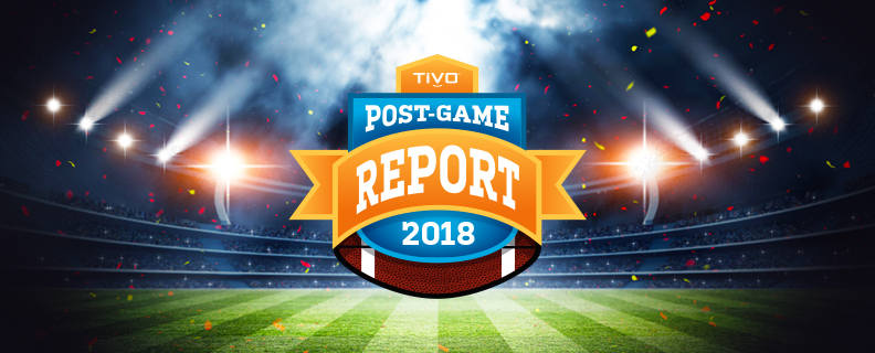TiVo Big Game Post-Game Report 2018