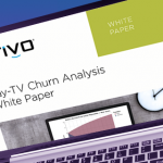 Pay-TV Churn Analysis white paper header