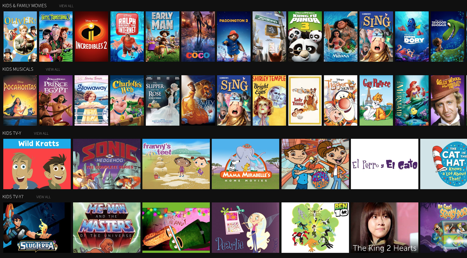 A DVR opens up a world of kid-friendly content for the little ones - all in one place.