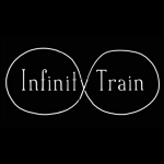 The original Infinity Train logo used in the 2016 Youtube test pilot.