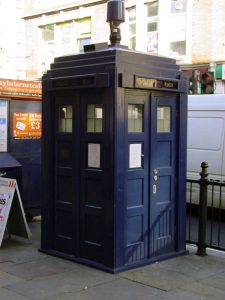 A British Earls Court Police Box.
