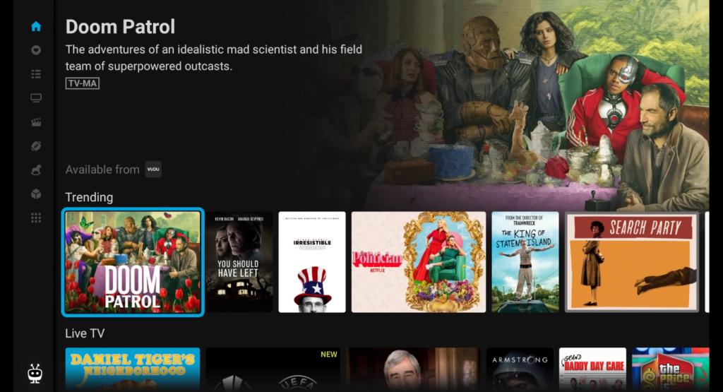 Vudu on TiVo Stream